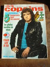SALUT LES COPAINS n°144- Aout 1974- Sardou- Fugain- Transferts- Poster