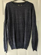 Jack And Jones Navy Blue Jumper Medium Mens