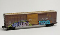 Norfolk Southern 50' Rib Side Boxcar Weathered/Graffiti MTL# 510 55 140 Z-Scale
