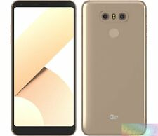 LG  H870DSU G6+ Gold 128GB 4G LTE EXPRESS SHIP Unlocked AU WARRANTY Smartphone