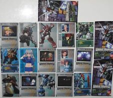 BANDAI japanese anime GUNDAM trading cards 3 packs set 15 cards