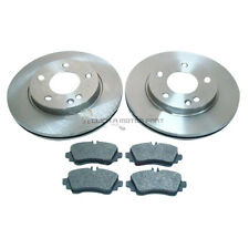 MERCEDES A CLASS A160 A170 CDi 1998-2004 FRONT 2 BRAKE DISCS AND PADS BRAND NEW