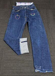 Vintage Levis 501 Big E Redline Selvedge Jeans Single Stitch