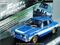 FORD ESCORT MK1 RS2000 1974 1/43RD SCALE MODEL CAR BLUE 2 DOOR VERSION R0154X{:}