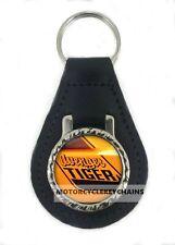 HILLMAN AVENGER TIGER real leather keyring keychain