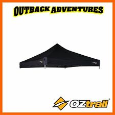 OZtrail Replacement Canopy 3x3m Gazebo Deluxe Black Shade Tent Marquee Outdoor