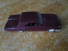 1965 Ford Thunderbird HT Promo Model Car-Maroon
