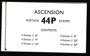 Ascension Island 1971 Mint MNH Booklet Definitives Evolution of Space Travel SB2