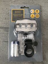 Bike / Bicycle 3 Function LED Front Light - Brand New