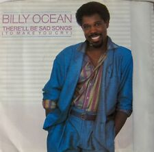 Billy Ocean: 3 Picture Sleeve 45RPM Sad Songs, Suddenly, Mystery Lady EXCELLENT
