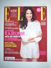magazine de Mode ELLE #3449 3 février 2012 cover Andie MacDowell