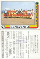 CALCIATORI PANINI 1986/87*FIGURINA STICKER N.530-BENEVENTO