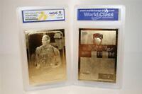 PATRICK EWING 1986-87 Fleer ROOKIE 23KT Gold Card Graded GEM MINT 10 * BOGO *