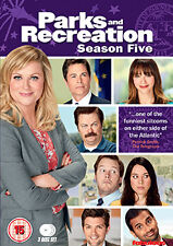 PARKS AND RECREATION - SERIES 5 - DVD - REGION 2 UK