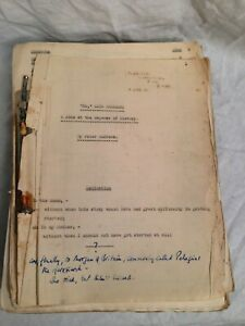 Peter Andrews - No Said Pharaoh - Original Manuscript Typescript - George Locke