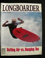 Longboarder Magazine 1994 Vol.1 #2 Surfing Hawaii Surfer Longboard