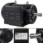 7.5 HP Air Compressor Duty Electric Motor 215T Frame 1760 RPM Single Phase WEG