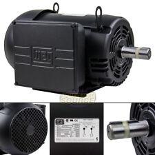 75 Hp Air Compressor Duty Electric Motor 215t Frame 1760 Rpm Single Phase Weg