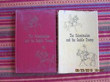 THE SCHOOLMA'AM & THE SADDLE TRAMP hcdj 1972 George Wolstad signed ill Fred Mass