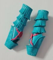 MONSTER HIGH DOLL SHOES BRAND-BOO STUDENTS ISI DAWNDANCER BLUE PINK BOOTS HEELS