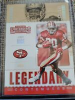 2020 Panini Contenders Jerry Rice Legendary /149 San Francisco 49ers