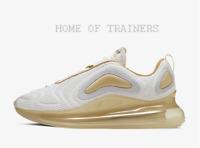 Nike Air Max 720 White Pale Vanilla Light Cream Anthracite Men's Trainers