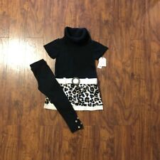 Faded Glory Girls Sweater Outfit Size 5-6 New!