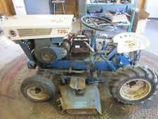 Sears Suburban 725 Garden Tractor with Plow 1962