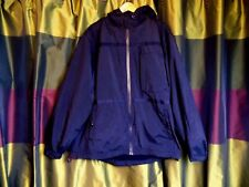 Kickers Mens Black Hooded Coat / Jacket size Large