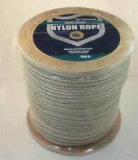 "Marine Grade Double Braid Nylon Dock Anchor Rope Gold Braid 3/8"" x 600 ft 22906"