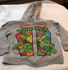 Nickelodeon~ Boys 4T Gray Teenage Mutant Ninja Turtles hoodie