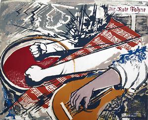 """Kopetz, Vera (1910 St. Petersburg-1998 Ückeritz) """"Die Internationale"""" 1975"""