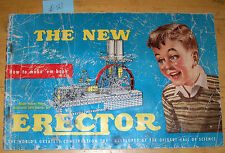 "1954 A C Gilbert Erector ""How To Make 'em Book"" 1½ to 6½ models M-3279   Lot #32"