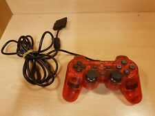 Sony PlayStation 2 official Controller Rouge testé PAL PS1 PS2