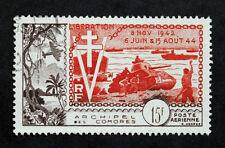 Francobollo COMORES / COMORE Stamp (Colonia) - YT Aria n°4 n (Col1)