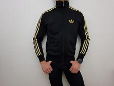 Original Adidas Jacke Trainingsjacke Sportjacke Schwarz Gold Gr. S RAR 20dda247f7