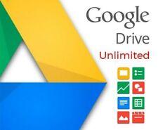 Google Drive Espacio Ilimitado / Paga solo una vez / 100% Garantizado