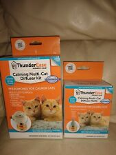 Thunderease multi Cat Diffuser kit refill calming paw gel New lot 60 day supply