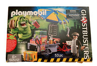 Playmobil 9222 SLIMER Schleim Würstchenstand Hotdog Getränke Fahrrad NEU OVP