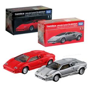 Takara Tomy TOMICA Diecast car Premium No12 Lamborghini Countach 25th Ann 2X SET