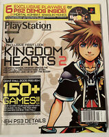 Official US PlayStation Video Game Magazine - Sept 2005 #96 DEMO DVD w/ 6 Games