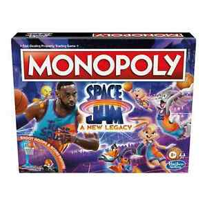 Space Jam A New Legacy Monopoly Game Edition   Age=8+   2-6 players
