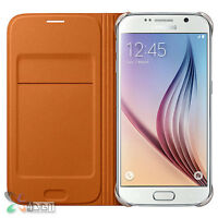 Genuine Original Samsung SM-G9200 Galaxy S6/S-6 Wallet Flip Cover Case Pouch