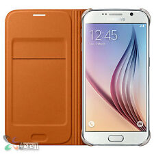 Genuine Original Samsung SM-G920F Galaxy S6/S-6 Wallet Flip Cover Case Pouch