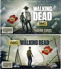 Empty Wrappers Walking Dead Season 4 Part 2 Complete 72 Card Base Set