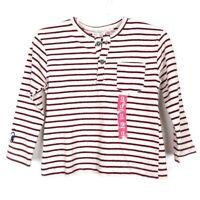 NWT Zara Baby Boy Striped Eyes Henley Sweatshirt Pullover Size 9-12 Months ADY