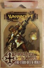 Warmachine Protectorate of Menoth Faction Deck Mkii Pip91017 New