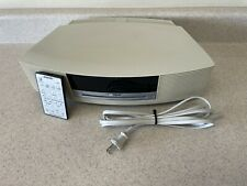 Bose Wave Radio / CD  Player AM/FM  AWRCC2 Platinum -Excellent- Sounds Great!
