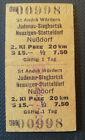 Eisenbahn Fahrkarte  1977   St.Andrä-Wördern - Nußdorf