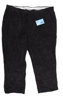 Premier Man Mens Black Corduroy Trousers Size W40/L26